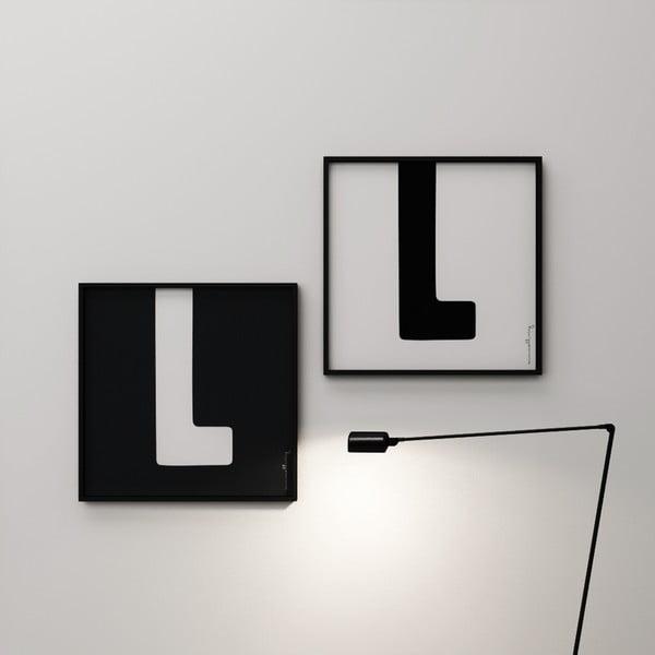 Plagát Litera L, 50x50 cm