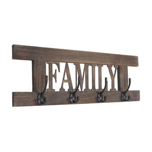 Vešiak Shabby Family, hnedý