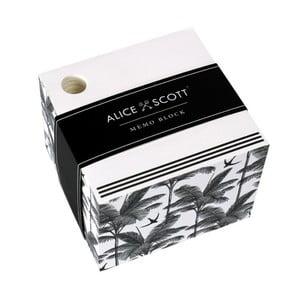 Blok na poznámky v škatuľke Alice Scott by Portico Designs, 500stránok