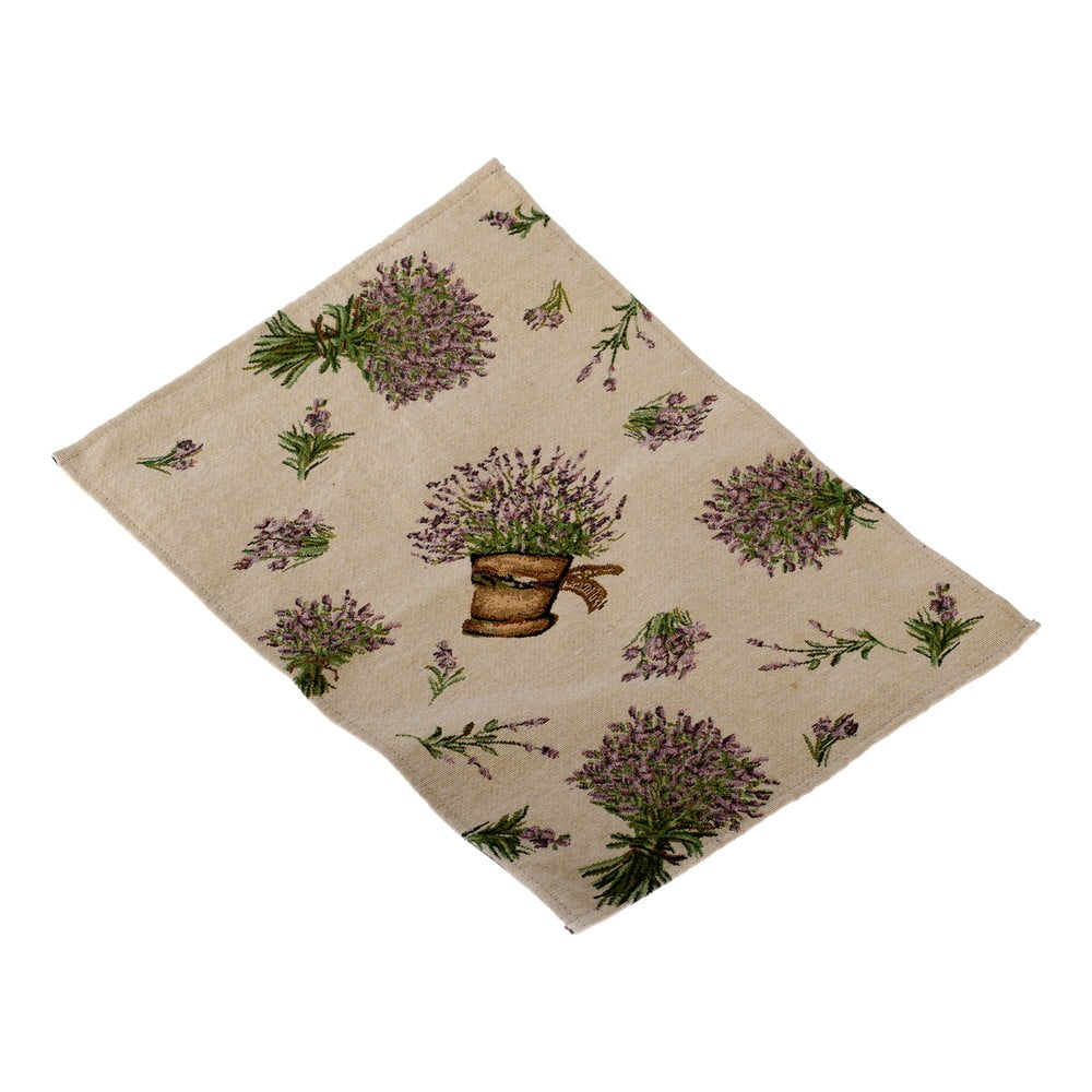 Prestieranie na stôl Dakls Flowers, 48 x 22 cm