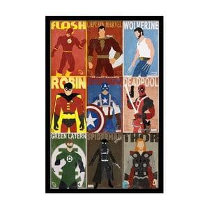 Plagát  Hero Team, 35x30 cm