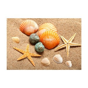 Vinylový koberec Beach, 52x75cm