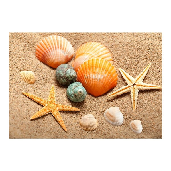 Vinylový koberec Beach, 52×75cm