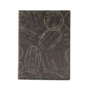 Čierna kožená pánska peňaženka Alviero Martini Rozuna