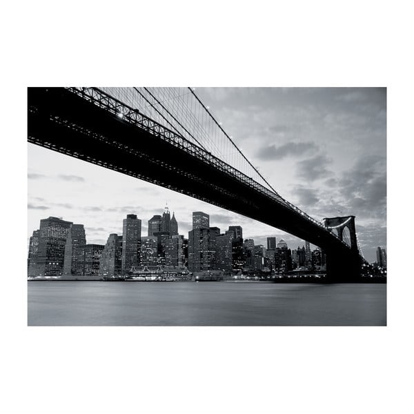 Veľkoformátová tapeta NY a Brooklynský most, 315x232 cm