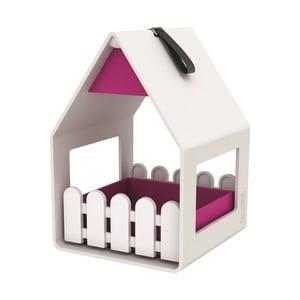 Vtáčia búdka Landhaus White/Pink