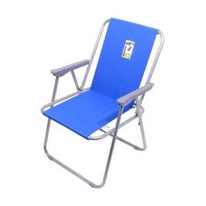 Modrá skladacia kempingová stolička Cattara Bern
