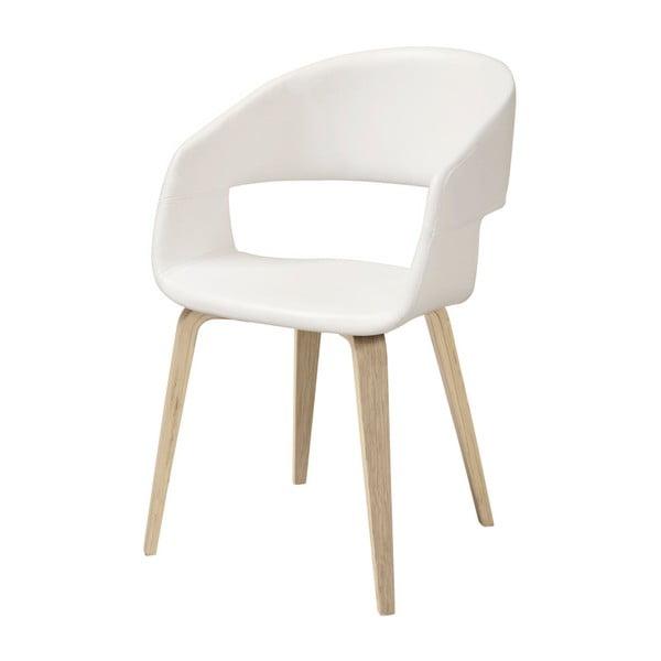 Biela jedálenská stolička Interstil Nova Nature Poplar