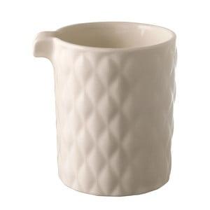Nádoba na mlieko Weave White