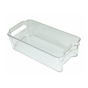 Transparentný úložný box do chladničky JOCCA Box Bin, dĺžka 31,5 cm