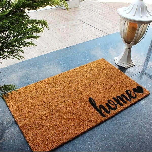 Rohožka z kokosových vlákien Sweet Home, 70 × 40 cm