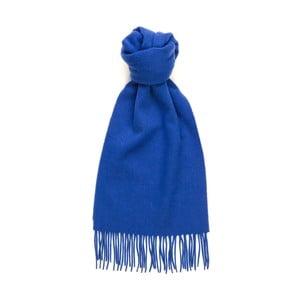 Modrý kašmírový šál Hogarth, 180×25 cm