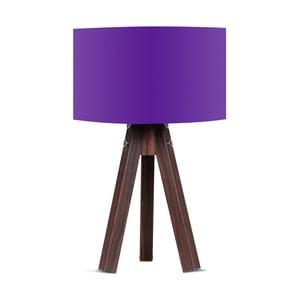 Stolová lampa s fialovým tienidlom Kate Louise Kahve