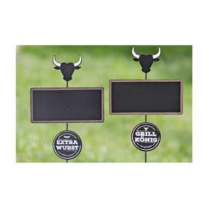 Sada 2 záhradných dekorácií Boltze Stamp