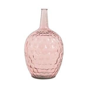 Ružová sklenená váza VICAL HOME, ⌀28 cm