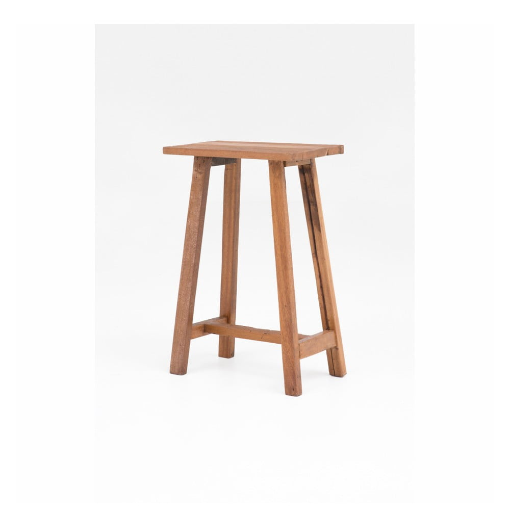 Drevená barová stolička WOOX LIVING Clara, výška 75 cm