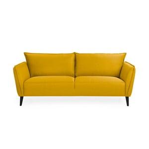 Žltá trojmiestna pohovka Softnord Malmo