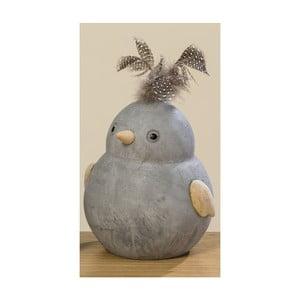 Dekorácia v tvare vtáčika Boltze Fips, výška 15 cm