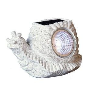 Vonkajšie solárne LED svetlo Snail
