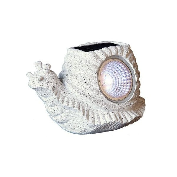 Vonkajšie solárne LED svietidlo Best Season Snail