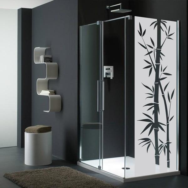 Vodoodolná samolepka do sprchy Ambiance Bamboo