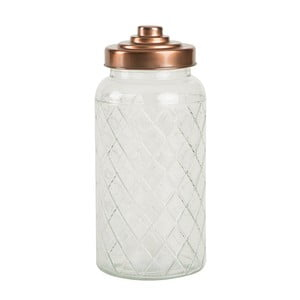 Sklenená dóza T&G Woodware Lattice, 1400 ml