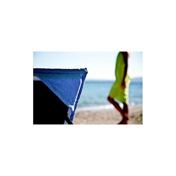 Hnedá plážová osuška srohovýmivreckami Terra Nation One Moe, 90x180cm