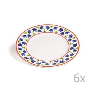 Sada 6 dezertných tanierov Toscana Gimignano, 21.5 cm