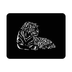 Nástenná svetelná dekorácia Tiger, 82 × 67 cm