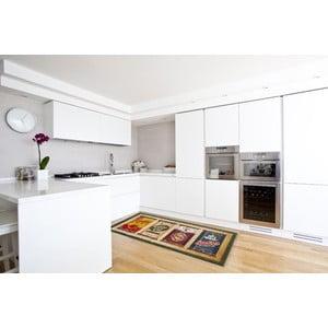 Vysokoodolný kuchynský koberec Caddy, 60x110 cm
