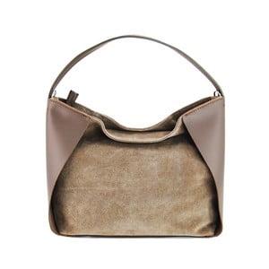 Kožená kabelka Duose Taupe