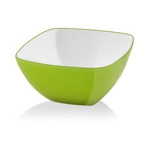 Zelená šalátová misa Vialli Design, 14 cm