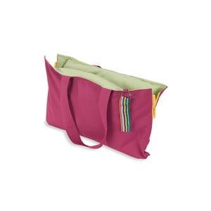 Skladací sedák Hhooboz 50x60 cm, ružový