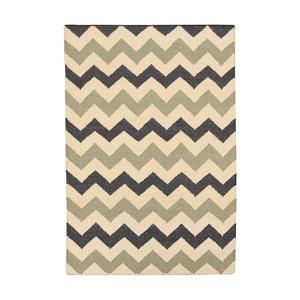 Vlnený koberec Kilim no. 02, 90x150 cm