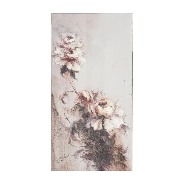 Obraz s kvetinou Clayre, 60x120 cm