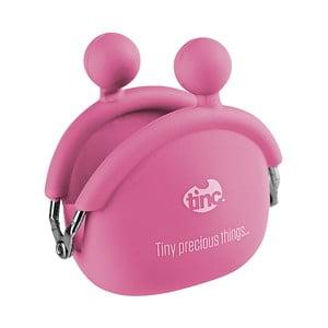 Ružová silikónová peňaženka na mince TINC Mallo
