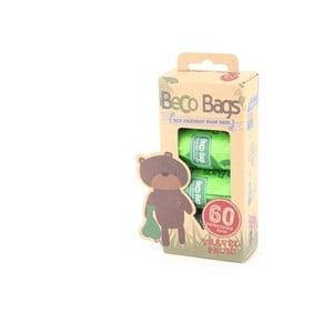 Sada 60 vrecúšok na venčenie Beco Bags
