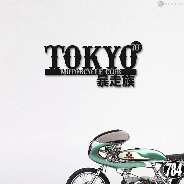 Nástenná drevená dekorácia Tokyo MC