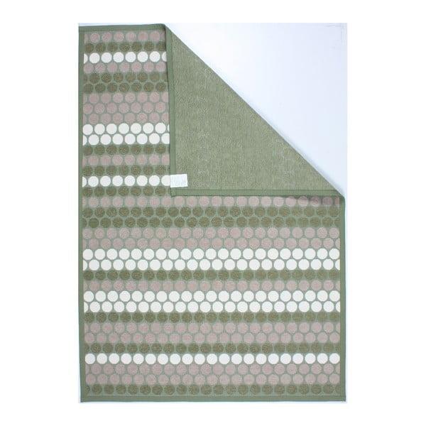 Koberec NW Olive/Beige/White, 80x150 cm