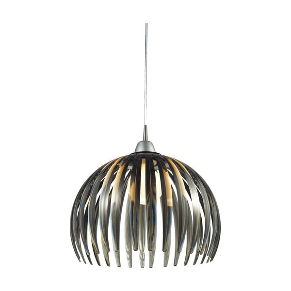 Závesné svietidlo Acrylic Dark, 40 cm