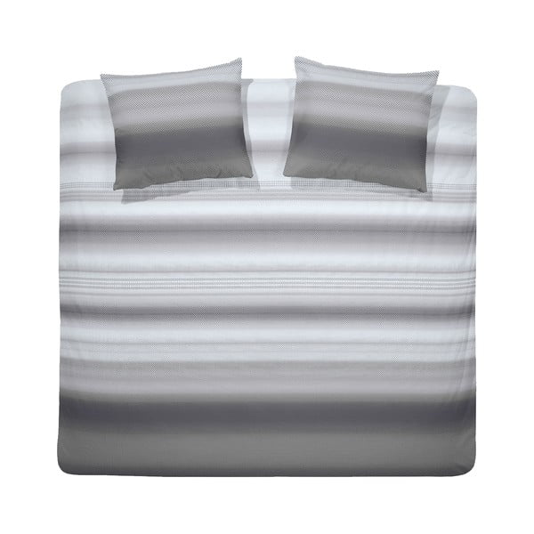Obliečky Punto 200x200 cm, šedé