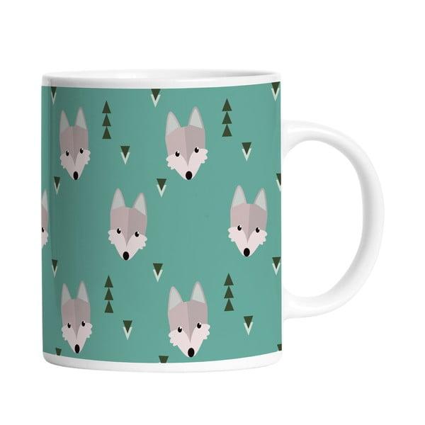 Keramický hrnček Wolfy Wolves, 330 ml