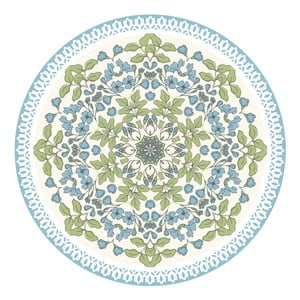 Sada 2 prestieraní Blue Circle