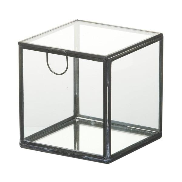 Sklenený úložný box Parlane Glass, 12 cm