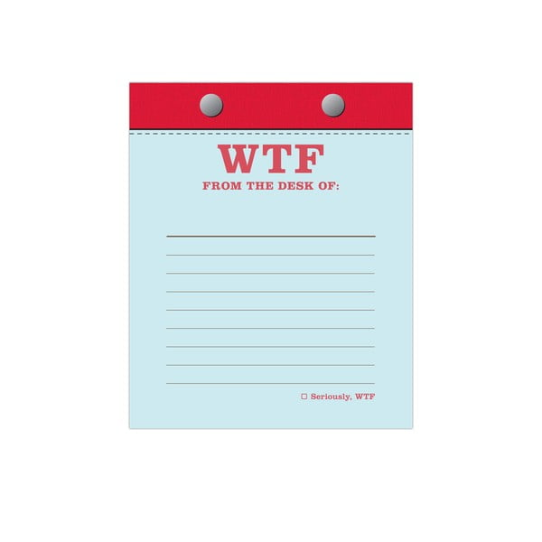Zápisník WTF