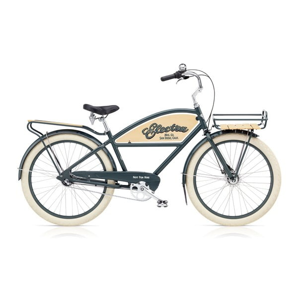 Pánsky bicykel Cruiser Attitude Delivery 3i Chicago Grey