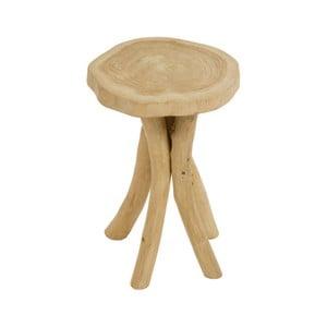 Stolička z tíkového dreva Santiago Pons Nisa
