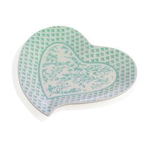 Porcelánová tácka v tvare srdca Brandani Alice