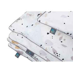 Obliečka na perinu na jednolôžko WeLoveBeds Terazzo, 150 × 200 cm