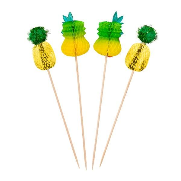 Sada 12 napichovacích dekorácií Talking Tables Fiesta Pineapple